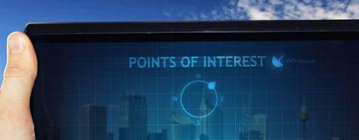 Tabletbildschirm mit Augmented-Reality Elementen (Symbolbild dafür, wie das Internet sich weiterentwickelt))