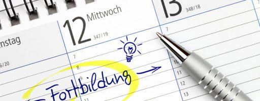 Kalendereintrag Fortbildung - Kursstruktur Zertifikatskurs mepps