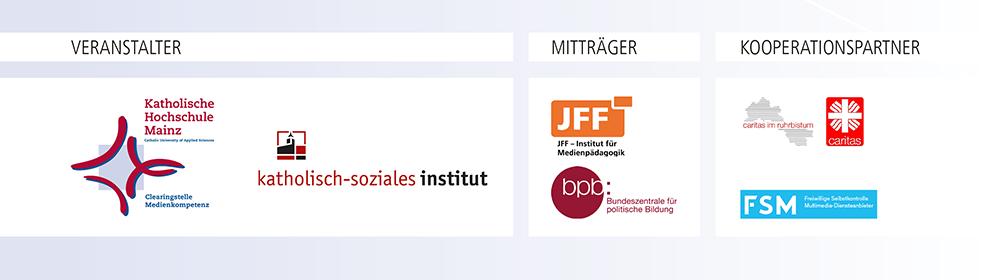 Logos der Veranstalter des Zertifikatskurses