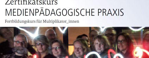 Zertifikatskurs Flyer Medienpädaogische Praxis