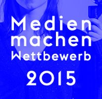 """Medien machen 2015"": Plakat zum Förderpreis Medienpädagogik"