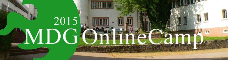 MDG OnlineCamp 2015