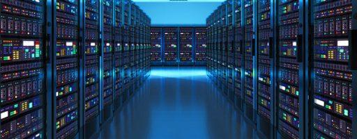 Rechenzentrum von innen (Symbolbild für Big Data)