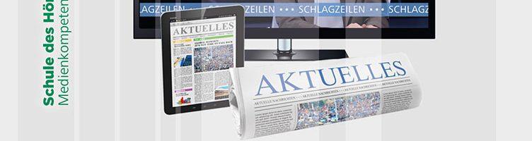 Medienberichterstattung als Thema im Unterricht