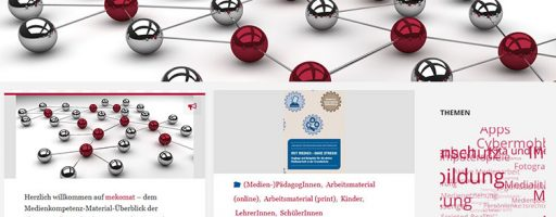 Screenshot der Seite mekomat.de