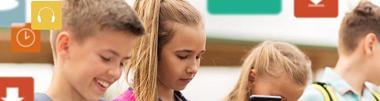 Handy, Laptop & Co. im Alltag von Kindern