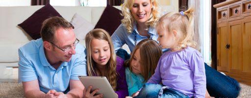gemeinsame Mediennutzung in der Familie