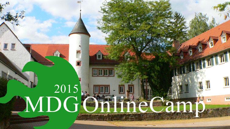 Einladung zum MDG OnlineCamp 2015