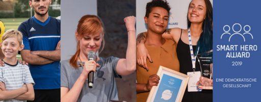 verschiedene Menschen; Symbolbild Smart Hero Award