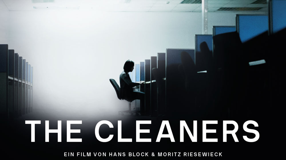 Mensch vor PC; Cover The Cleaners