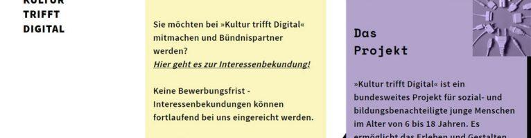 """""""Kultur trifft Digital"""""""