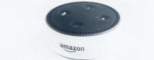 Amazon Echo Dot als Beispiel für Sprachassistenten
