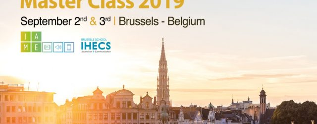 IAME – Master Class 2019 in Brüssel