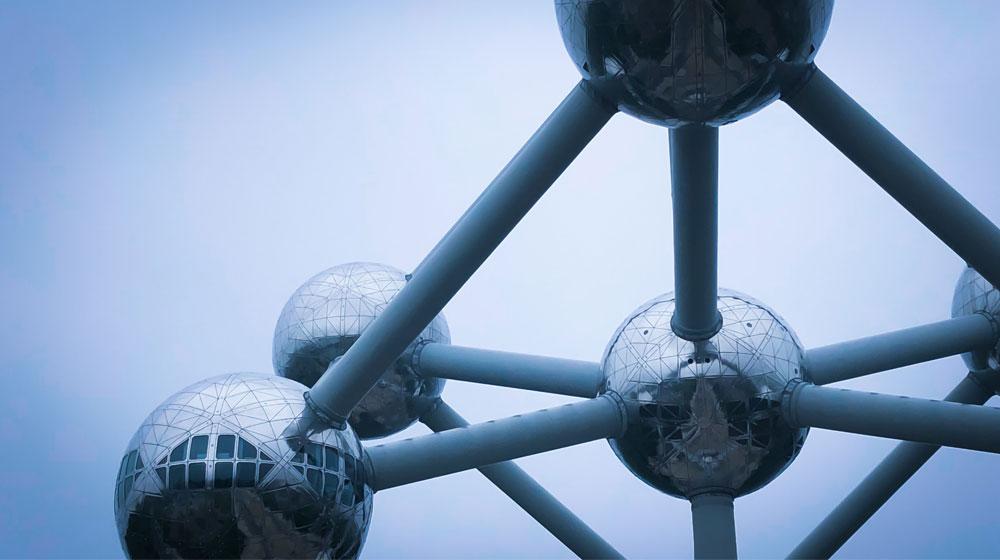 Atomium in Brüssel (Symbolbild für die Tagung IAME)