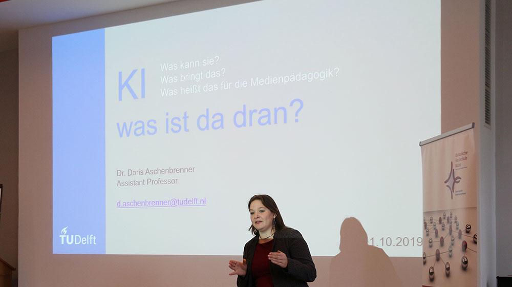 Porf. Dr. Doris Aschenbrenner - KI - was ist dran