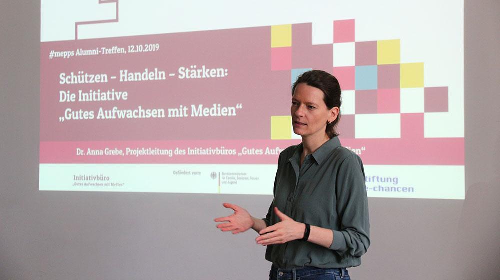 Dr. Anna Grebe - #mepps Alumni KI GamM