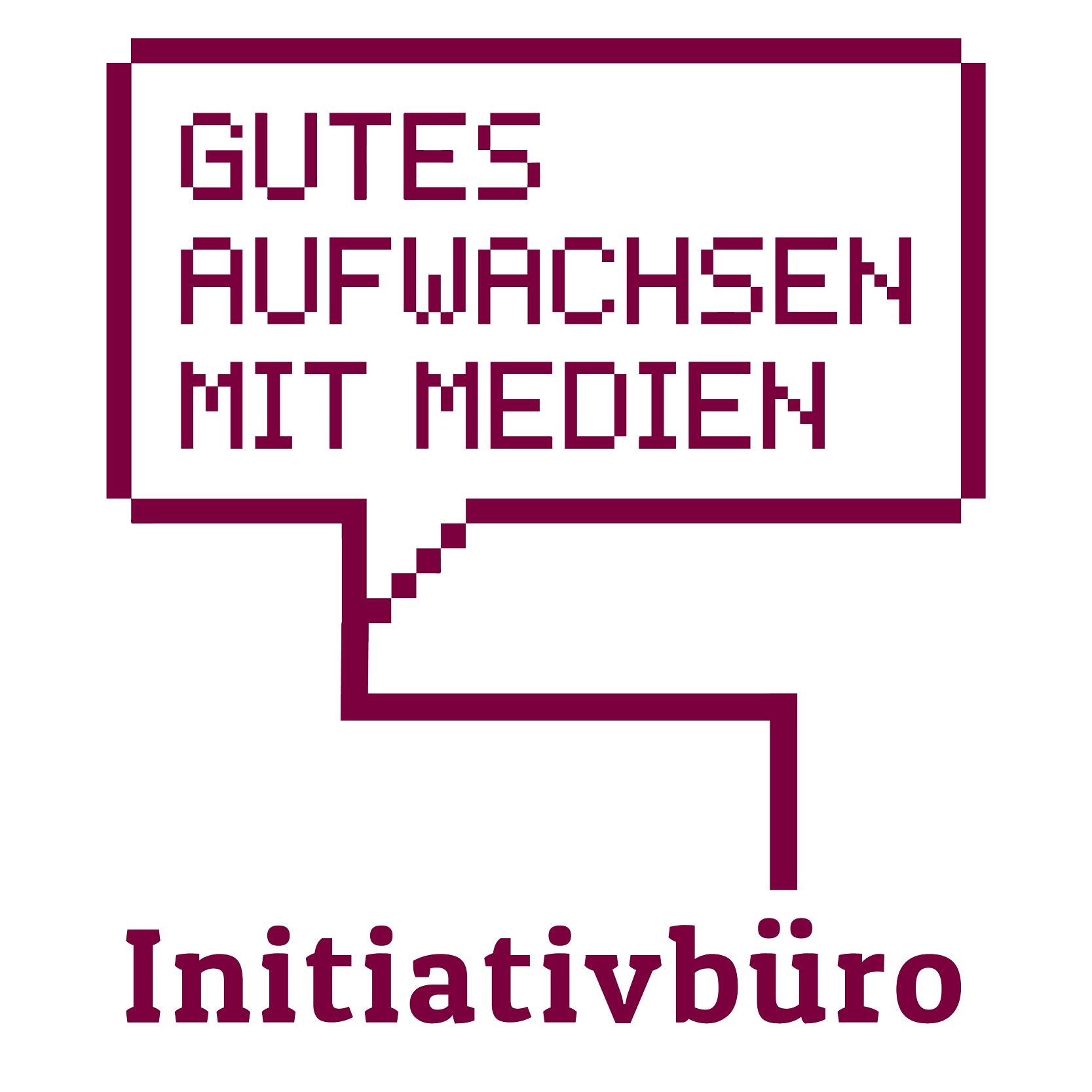 Logo Initiativbüro Gutes Aufwachsen mit Medien