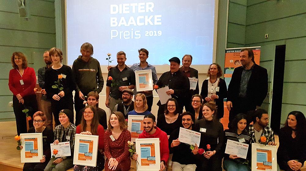 Gewinner Dieter-Baacke-Preis 2019
