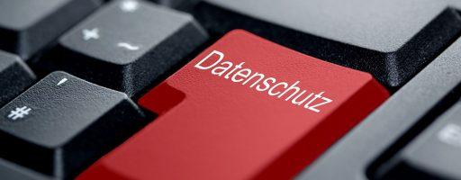 Datenschutz - Taste - Tastatur