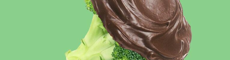 Brokkoli mit Schokolade? Bitte nicht!