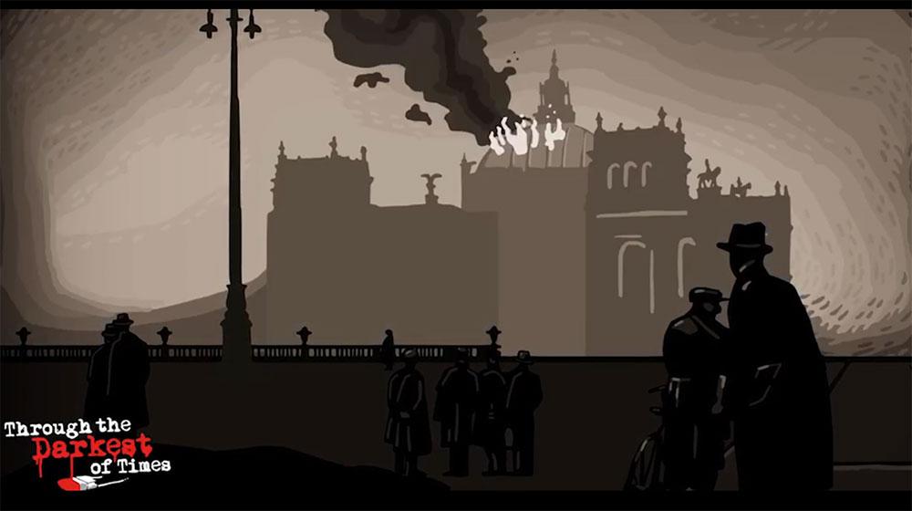 Through the darkest of times (Screenshot) Brokkoli mit Schokolade?