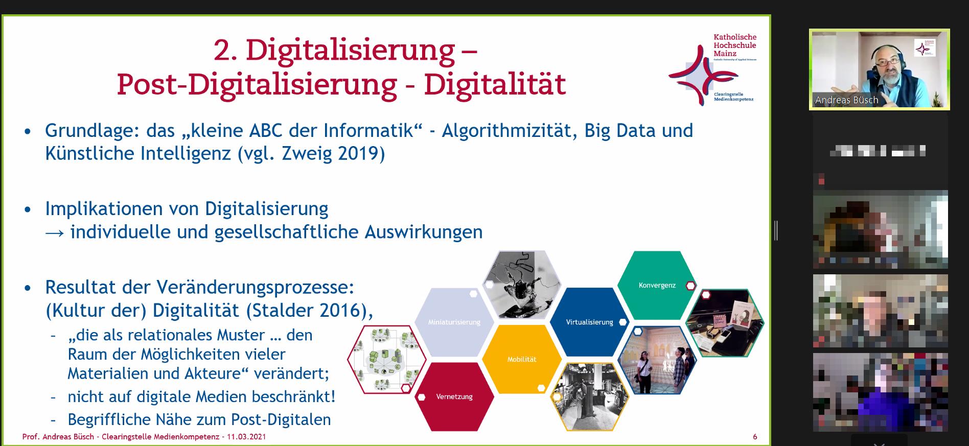 """Barcamp-Session bei """"Kirche im Web"""" zum Thema Digitalität und KI mit Prof. Andreas Büsch"""