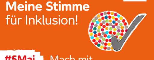 """Aktionstag """"Meine Stimme für Inklusion"""""""