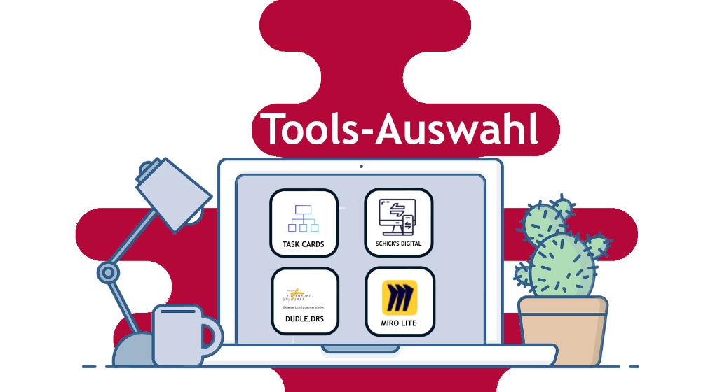 Tools-Auswahl